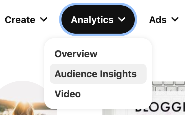 Analytics Pinterest