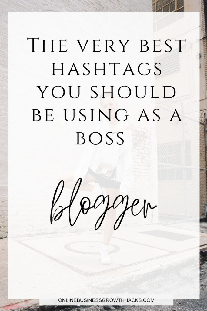 best hashtags for bloggers